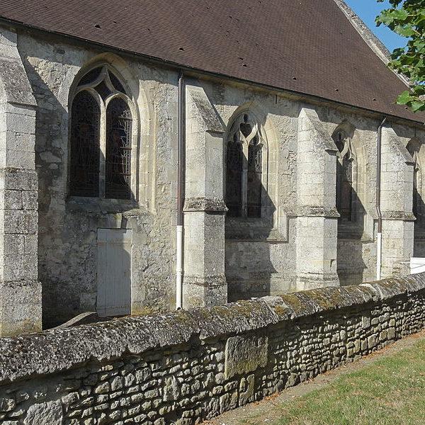 Chapelle de la Vierge et Bas-côté Nord